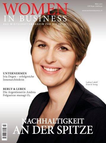 Women in business 3/2011 - Alpnach Norm