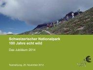 Teamsitzung Protokoll - Schweizerischer Nationalpark