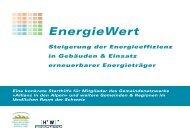 EnergieWert - Umwelt und Natürliche Ressourcen