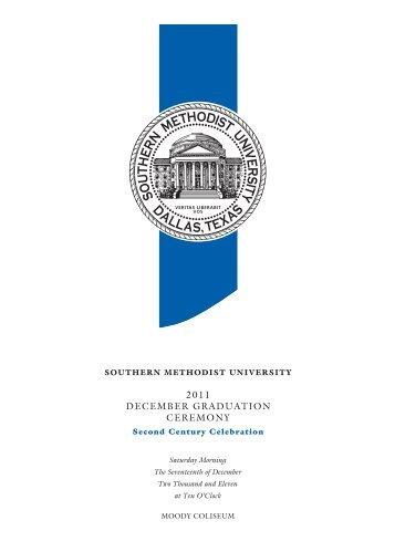 December Graduation - Southern Methodist University