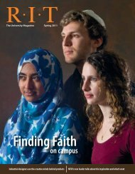 Entire Magazine - Rochester Institute of Technology