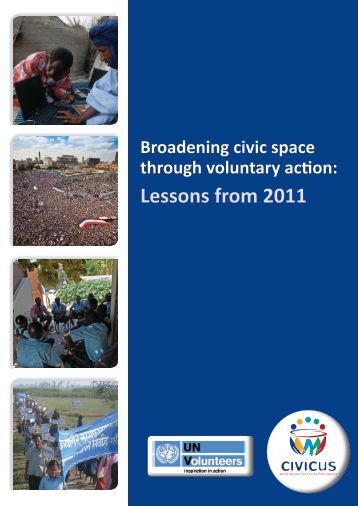 Broadening Civic Space through Voluntary Action - United Nations ...