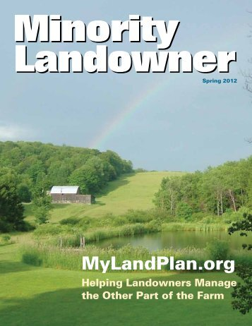 Spring 2012 - Minority Landowner