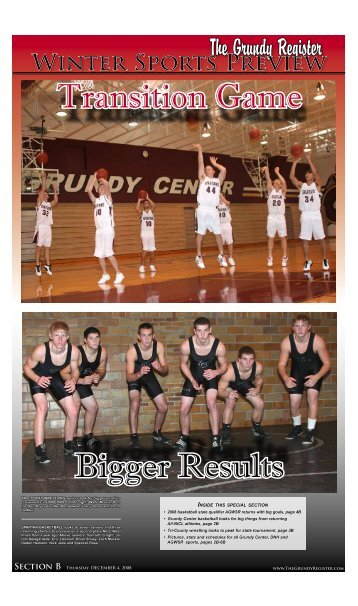Winter Sports Preview - The Grundy Register