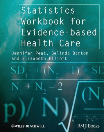 Statistics Workbook for Evidence-based Health Care - Dr.Khaldoon's ...