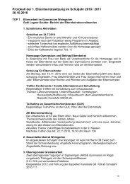 Elternbeiratssitzung Protokoll vom 28-10-2010.pdf - Gymnasium ...