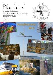 Nr. 03 - 2012 (PDF-Datei) - Katholische Seelsorgegemeinschaft ...