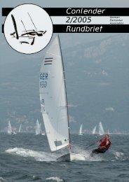 Bericht zur Alster-Auftakt-Regatta 2005... - German Contender ...