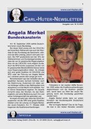 Angela Merkel, Bundeskanzlerin - Carl Huter