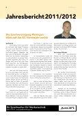 Vereinsheft 2012 - Sportverein Meiringen - Seite 4