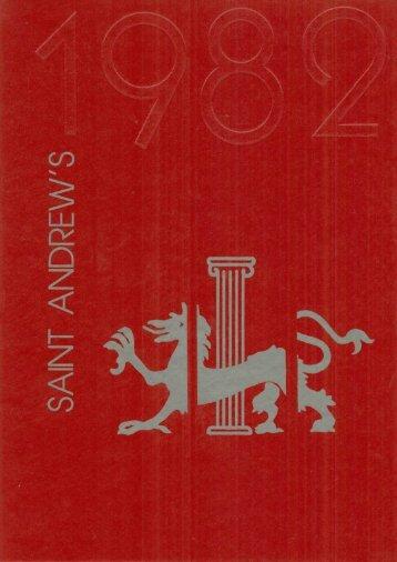 1982 - St. Andrew's School