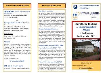 Berufliche Bildung - BBS Syke