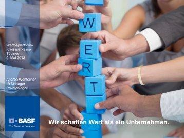 Fahrplan bis zum Jahr - BASF.com