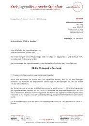 Kreisjugendfeuerwehr Steinfurt - Jugendfeuerwehren im Kreis ...