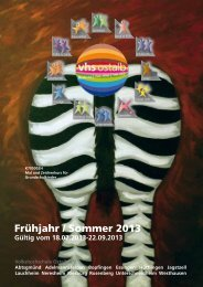 Frühjahr / Sommer 2013 - VHS Ostalb