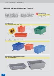 Individual- und Sonderlösungen aus Kunststoff - SSI-Schaefer
