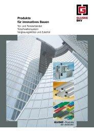 Produkte für innovatives Bauen - Roto