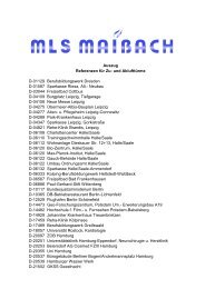 Auszug Referenzen für Zu- und Ablufttürme D-01129 ... - MLS Maibach