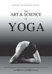ART & SCIENCE - Atelier de yoga - Lausanne