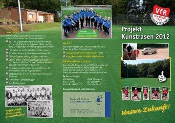 VfR-Flyer 4c V11.indd - Projekt Kunstrasen 2012 - VfR ...