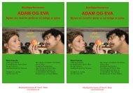 ADAM OG EVA ADAM OG EVA - Tine K. Skau, official Website