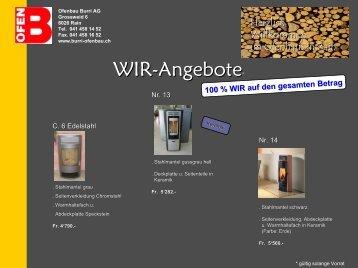 Ofenbau Burri AG Grossweid 6 6026 Rain Tel. 041 458 14 52 Fax ...