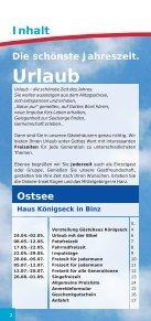 Ostsee und im Harz Ostsee und im Harz - Diakonissen-Mutterhaus - Seite 2