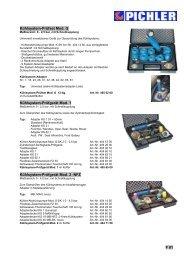 Kühlsystem-Prüfset Mod. G - bei PICHLER WERKZEUG