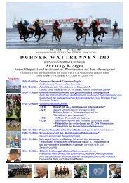 duhnerwattrennen 2010 - Stadt Cuxhaven