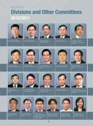 Report from Divisions and Other Committees - Hong Kong Institution ...