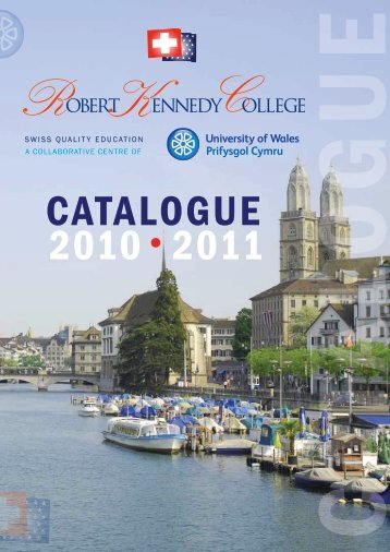CATALOGUE 2010 2011 - Robert Kennedy College