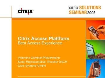 Citrix Access - Columba Informatik AG, St. Gallen
