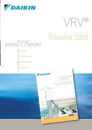 VRV III Concealed ceiling unit
