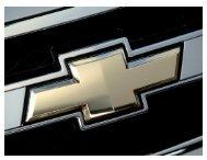 Chevrolet - Get a Free Blog