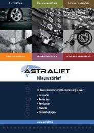EVA - Revolutionaire ontwikkeling voor platformliften met ... - Astralift