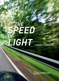 At the speed of light - Eurofiber