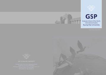 Brochure - Graduate School of Pan-Pacific International Studies
