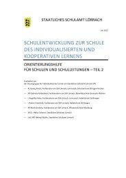 Orientierungshilfen für Schulen und Schulleitungen Teil 2 (PDF