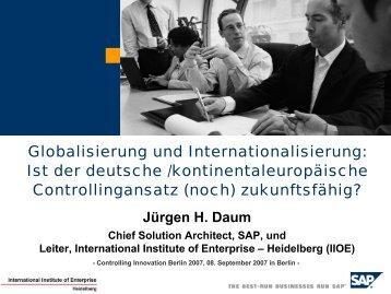 Download der Vortragsunterlangen von Jürgen H. Daum