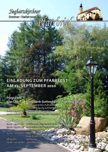 Sommer - Herbst 2010