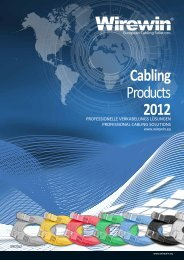Cabling Products 2012 - RedDot.ro