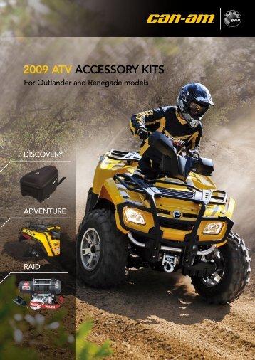CAN-AM™ – 2009 ATV Accessory Kits (EN) - cominup