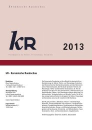 kR - Keramische Rundschau