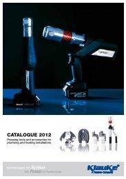 CATALOGUE 2012 - Gustav Klauke GmbH
