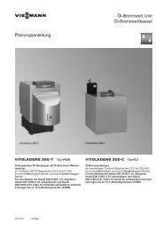 Vitoladens 300-C (Typ VC3) Planungsanleitung