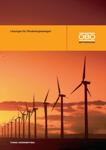 Lösungen für Windenergieanlagen - OBO Bettermann