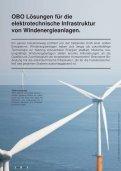 Lösungen für Windenergieanlagen - OBO Bettermann - Seite 2