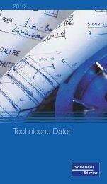 Technische Daten - Schenker Storen AG