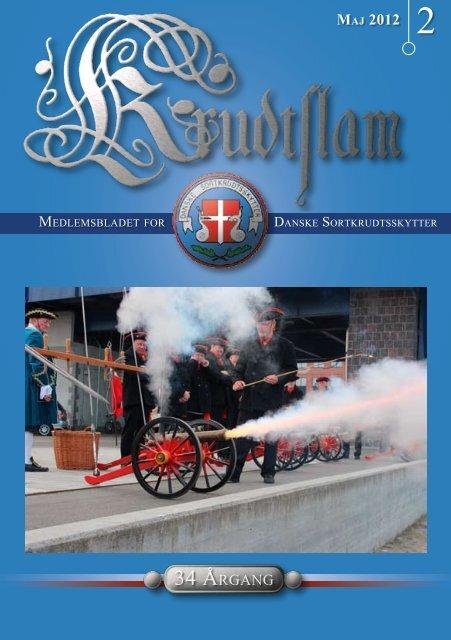Krudtslam Nr.2-2012 - Forbundet Af Danske Sortkrudtskytteforeninger