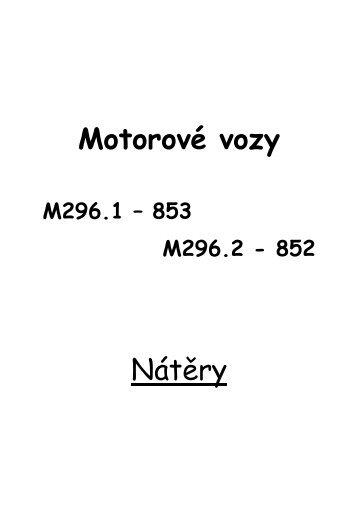 Zde - Motorové vozy 852, 853, 854